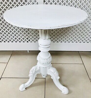 LOVELY 19th CENTURY FRENCH WALNUT WINE TABLE LIGHT GREY DISTRESSED C1900