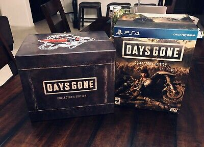 Days Gone PS4 Collector's Limited Edition BOX ONLY (NO GAME!) Sony Bend