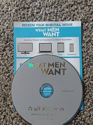 What Men Want (DVD+Digital 2019)T.P. Henson, Tracy Morgan - No Blu-ray or case
