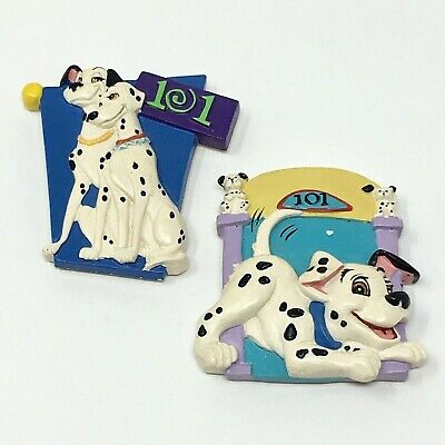 Disney 101 DALMATIONS Magnet Vacation Refrigerator Magnet - Lot of 2