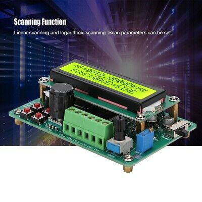 DDS Function LED Digital Signal Generator Module Sine Wave Frequency Counter PCB