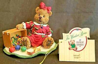 """1997 Papel Giftware The Windsor Bears of Cranbury Commons ~ Sarah """"Uh Oh!"""""""