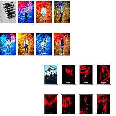 GOT7 SPINNING TOP:BETWEEN SECURITY&INSECURITY New Album Poster Hanging Painting