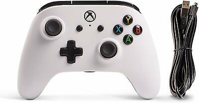 Power A Enhanced Wired Controller for Xbox One & Windows 10 - White