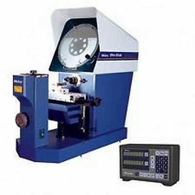 "Mitutoyo PH-A14 14"" Optical Comparator w/ KA counter, Tray, & 20x Lens"
