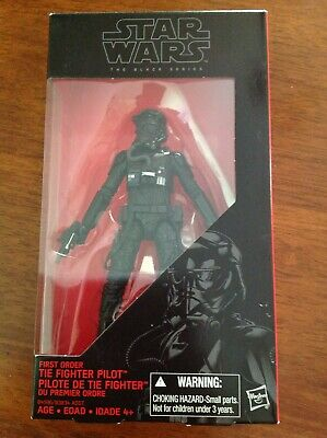 """Star Wars The Force Awakens 6"""" Black Series First Order Tie Fighter Pilot"""