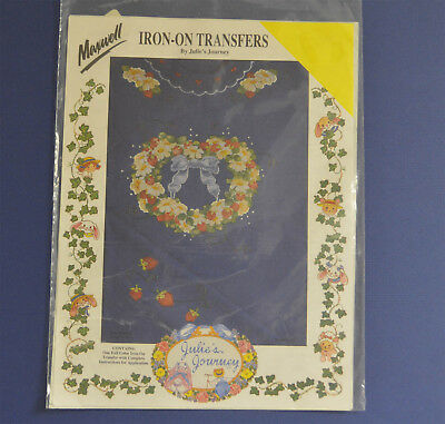 Maxwell Iron-On Transfer By Julie's Journeys Blue Ribbon Strawberries M2903-33T