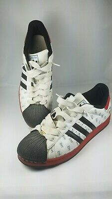 outlet store 3156c 36179 Men s Adidas Superstar 22 Cities City Berlin Sneakers Size 14 White Red  Germany