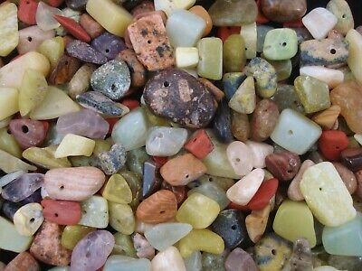 Gemstone Larger Chips 50g Mix Pack 200pc Chunky Beads Jewellery FREE POSTAGE