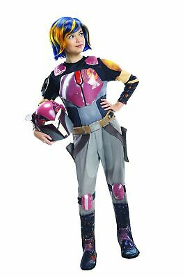 Rubies Costume Star Wars Rebels Sabine Deluxe Child Costume Small