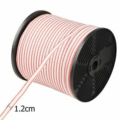 400M UV-Stabilised Polytape Stainless Steel Electric Fence Insulator Anti-rust
