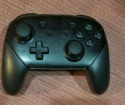 Official Black Nintendo Switch Wireless Pro Controller Only