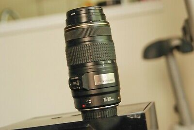 Canon EF 75-300mm f.4-5.6 with IMAGE STABILIZATION