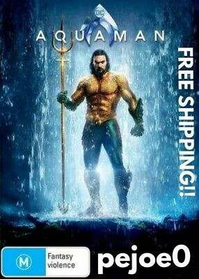 Aquaman DVD Reg 4 FREE POST! (2018) New!
