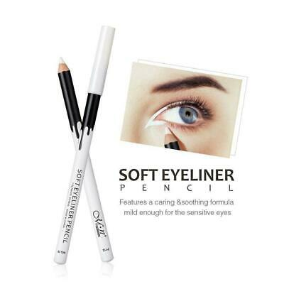 1pcs Menow Eyeliner Pencil Eye Contour Highlight Pen Waterpr White Eyeliner N6M9