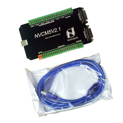 MACH3 5-Axis 125Khz USB Motion Controller Breakout Board For CNC Engraving