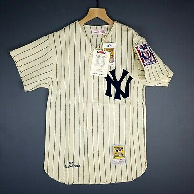 af1c2defa 100% Authentic Joe DiMaggio Mitchell & Ness 1939 Yankees Jersey 36 S Mens