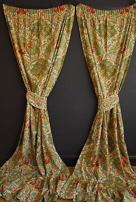 Vintage Melbury Curtains Arts And Crafts Liberty London William Morris