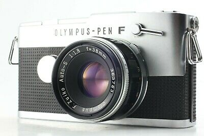 【EXC+++】OLYMPUS PEN FT 35mm Film Camera w/ 38mm f1.8 Lens from JAPAN 548