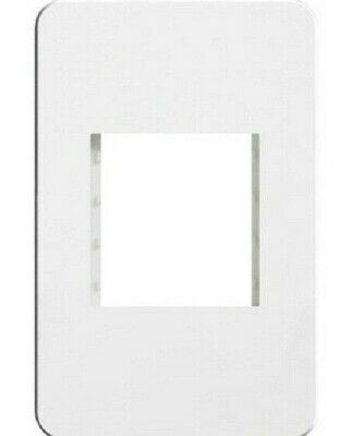 Hager SILHOUETTE SYSTO ACCOMODATION PLATE 117x78mm White *German Brand