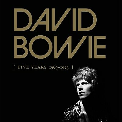 CD David Bowie Five Years 12 CD box set NEW/SEALED