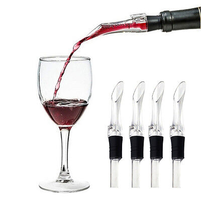 Aerating Spout Accessory Aerator Red Wine Bottle Pourer Portable-Decanter