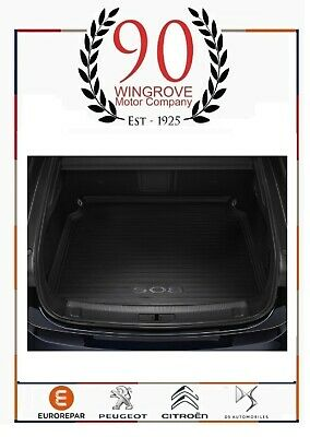 New Genuine Peugeot 508 Saloon (R8) 2018> Load Liner Boot Tray 1631835980