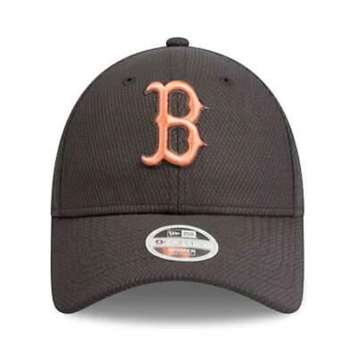promo code 4bceb 55d32 Ladies Boston Red Sox Hat New Era Cap MLB 9Forty Curved Brim Hats
