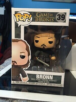 Funko Pop Game Of Thrones Bronn #39 Vaulted Mint