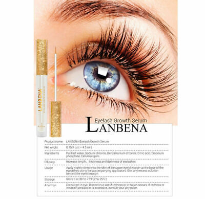 ebb069f3f32 LANBENA Eyelash Enhancer Eyebrow Eye Lash Rapid Growth Liquid Serum  Enhancer DIY
