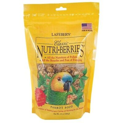 Lafeber  Nutriberries Original 284G - Complete Parrot Food And Ultimate Treat