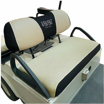 Golf Cart Seat Covers Fit Club Car DS Precedent &Yamaha Sandwich Breathable Mesh