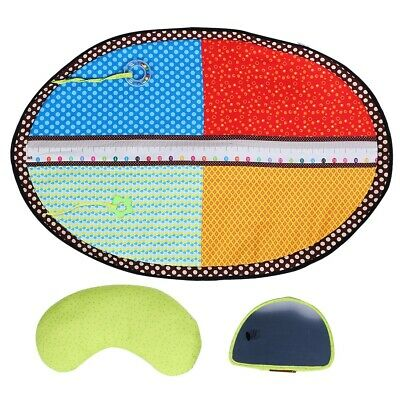 Baby Infants Toddlers Playmat Crawling Mat with Built-in Diaper Stature Scale SP