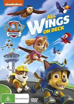 Paw Patrol - All Wings On Deck (DVD, 2016, Region 4) Nickelodeon BRAND NEW