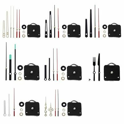 Quartz Clock Movement Mechanism Hands Wall Repair Tool Parts Silent Set DIY Kits