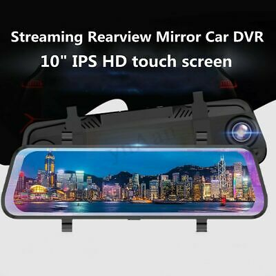 """10"""" Backup Camera Mirror Car Rear View Reverse NightVision Parking System MA1983"""