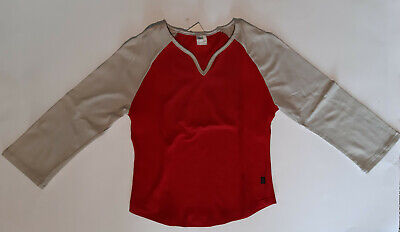 maglia ARENA donna EXE SWEAT red.grey 40