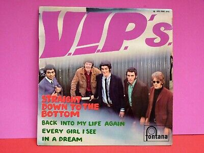 VIP'S Straight down to the bottom 45 tours 7'' EP