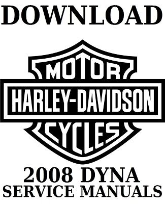 2008 Dyna Service Manuals DOWNLOAD PDF Files