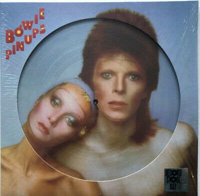 David Bowie Pin Ups Ltd Picture Disc Lp Sealed Rsd 19 Record Store Day Db69736P