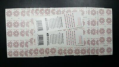 USPS Forever Stamps 1st Class - 20  Sheets of 10  / 200 Stamps - FREE SHIPPING!