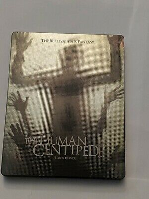 BLU-RAY NEW The Human Centipede [First Sequence] Steelbook