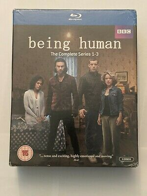 BLU-RAY USED Being Human The Complete Series 1-3