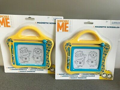 Wholesale Job Lot 36 X Brand New Despicable Me Minions Magnetic Scribbler
