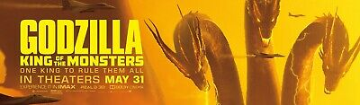 Godzilla King Of The Monsters Movie Character Banner Poster 2019 | A4 A3 A2 A1 |