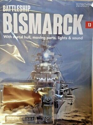 Build Bring The Bismark To Life Partwork Diecast Metal Scale 1: 200 = # 13