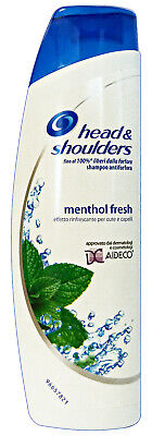 Set 6 H&S Shampoo MenTOL Fresh AntiForfora 250 Ml.  Prodotti per capelli