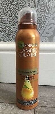 GARNIER AMBRE SOLAIRE SELF TANNING DRY BODY MIST 150ml ***BRAND NEW***