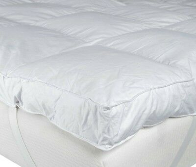 Goose And Down Mattress Topper 85% Feather & 15% Down All Sizes