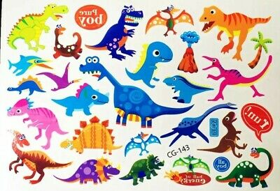 KIDS Temporary Tattoo DINOSAUR Great for Party Bags